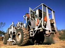 Vibroseis Truck